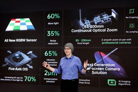 OPPO apuesta fuerte por la fotografía: nueva cámara bajo la pantalla, un sensor RGBW, zoom óptico continuo y un OIS de 5 ejes