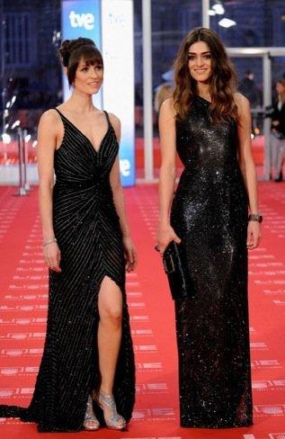 Olivia y Laura Premios Goya 2011