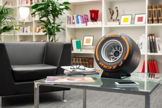 Pirelli P Zero Sound, un curioso altavoz Bluetooth para los amantes de la F1