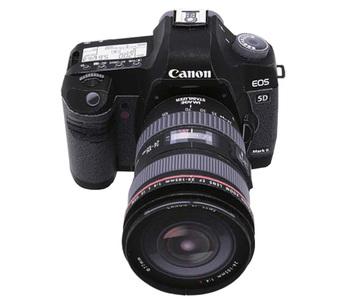 Sólo para 'frikis':  Construye tu Pentax, Canon o Nikon de papel