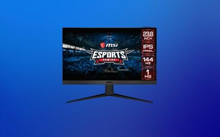 Ofertón para los más jugones: monitor gaming MSI Optix de 144Hz por 57 euros menos con este cupón de MediaMarkt