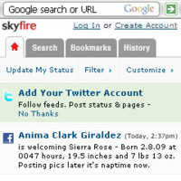 SkyFire se actualiza a la versión 1.1