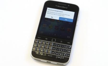 Así funcionan los accesos directos de teclado en la BlackBerry Classic