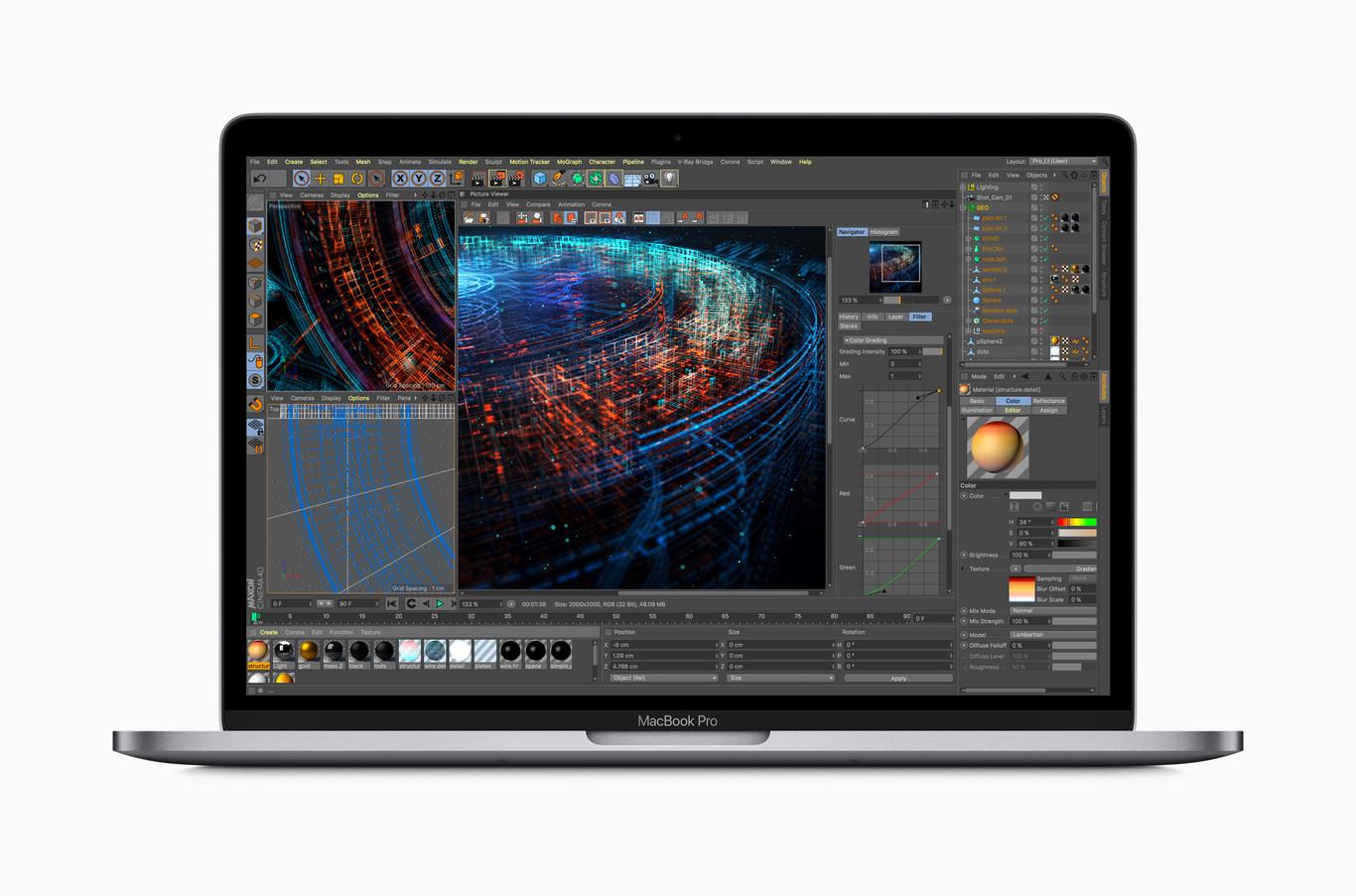 a7b1bef852d MacBook Pro 2018: especificaciones, características y precio