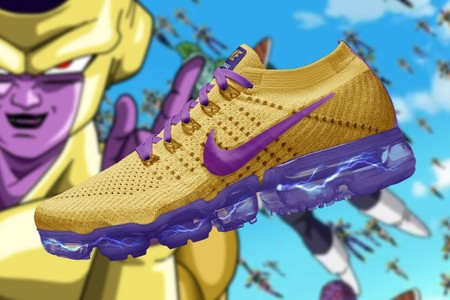 Dragon Ball Super Nike Air Vapormax Golden Freezer