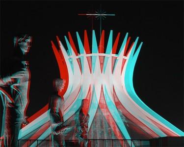 La obra de Oscar Niemeyer, ahora en 3D