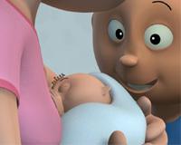 Baby bubbly, un corto acerca de la lactancia materna durante las primeras horas de vida