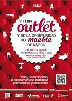 La Feria del Outlet del Mueble de Nájera en La Rioja se celebra dentro de unos días