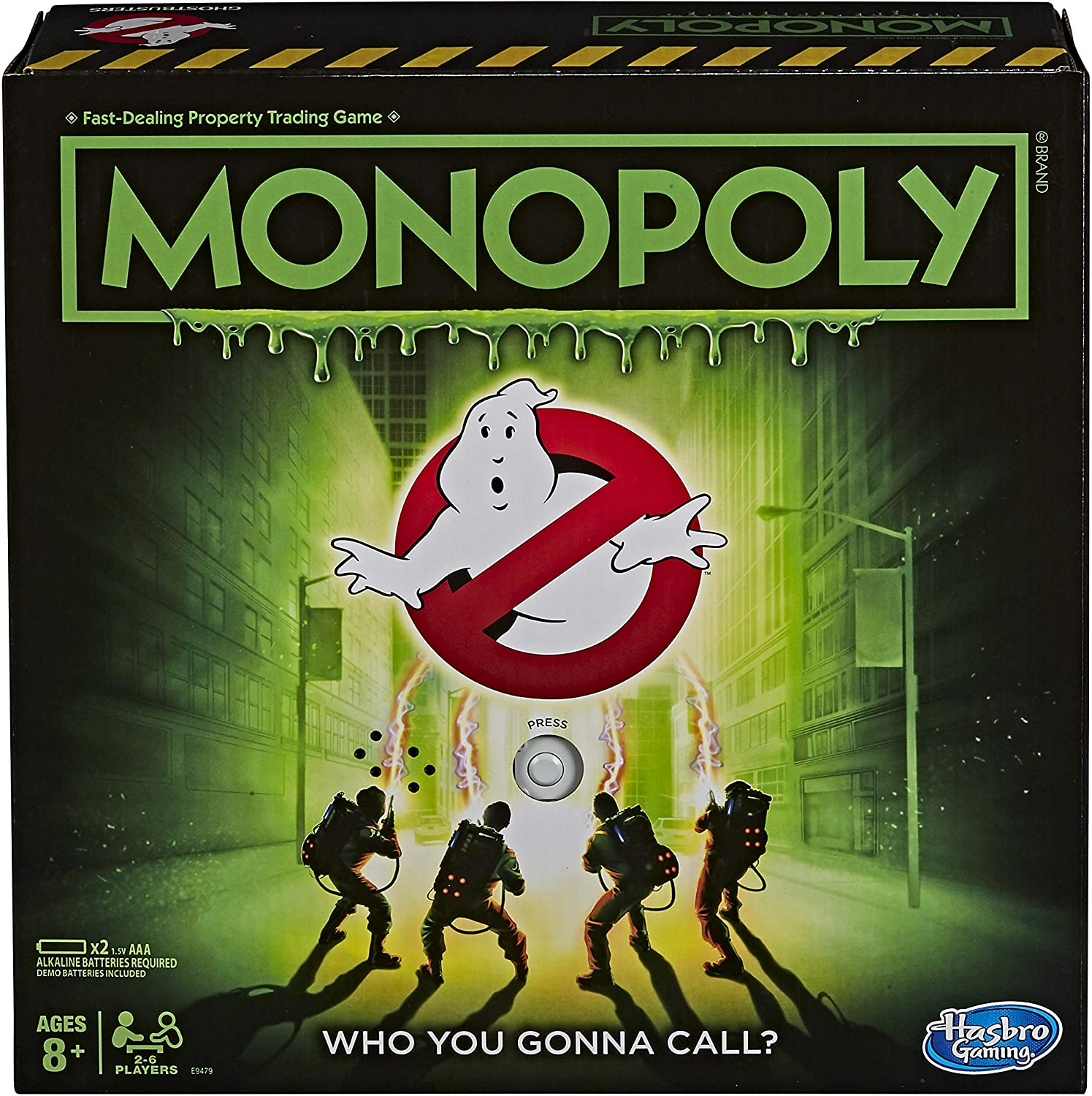 Hasbro Monopoly Game: Ghostbusters Edition