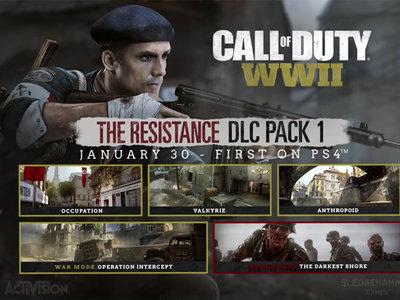 Así es Resistance, el primer DLC de Call of Duty WWII: mapas, zombis y novedades en el modo Guerra