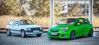 El Opel Corsa ha cumplido 30 años