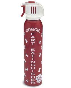 Extintor de pedos caninos