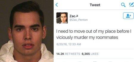 De la paranoia a la realidad: la historia del asesino que adelantó su crimen en Twitter