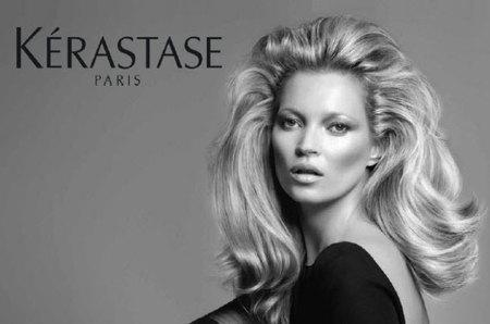 Kate Moss la nueva diva de Kérastase, las dos K de la belleza