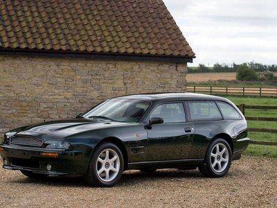 Aston Martin V8 Sportsman Estate: un raro shooting brake con mucha clase busca nuevo dueño
