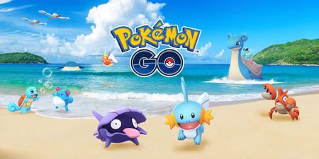 Pokémon de Agua a tutiplén con el nuevo evento Festival Acuático de Pokémon GO