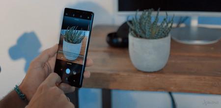 Camara del Samsung Galaxy Note 8