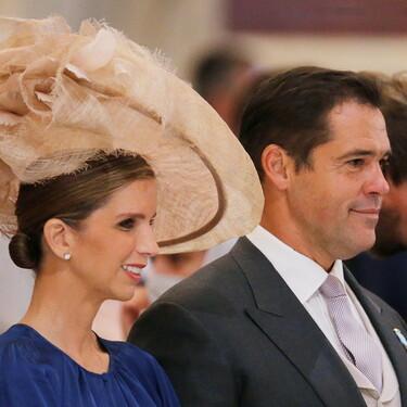 Margarita Vargas destaca por su elegancia en la boda (y pre-boda) de Jorge Romanov y Rebecca Bettarini