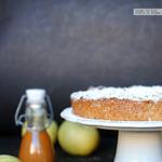 Pastel de manzana, almendra y canela. Receta fácil para lucirse
