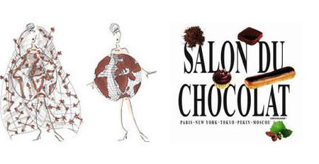 """El vestido """"mapamundi"""" del Salón del Chocolate 2013"""