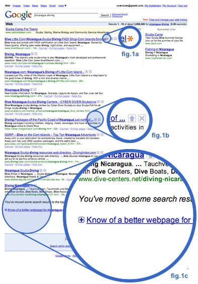 Google experimenta con la votación de resultados