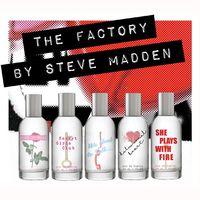 Steve Madden lanza su primera (y molona) colección de fragancias a los que ha llamado The Factory