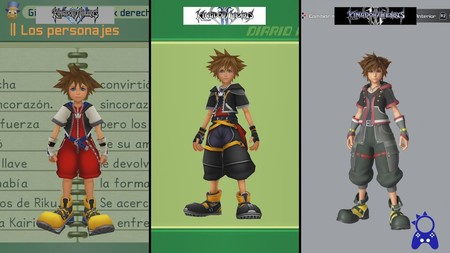 Así han evolucionado visualmente los personajes de la saga Kingdom Hearts