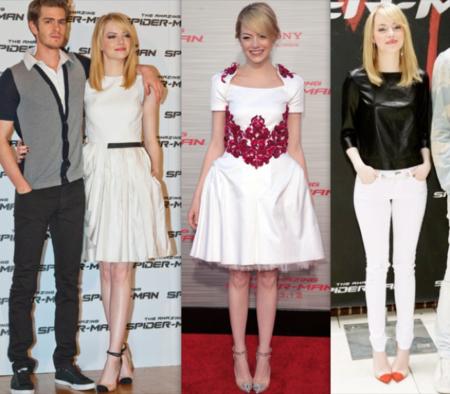 Emma Stone está obsesionada con los zapatos de PVC (y no es la única)
