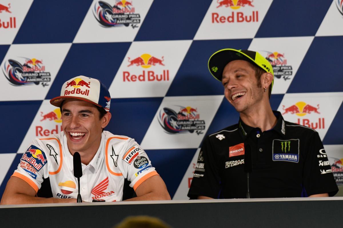 Declaraciones de Valentino Rossi y Marc Márquez - PcMoto