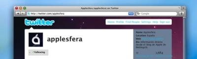 Ampliando el uso de Twitter en Applesfera