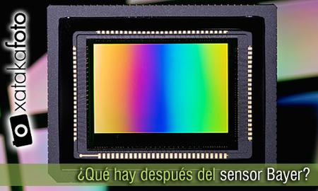 ¿Qué hay después del sensor Bayer?