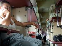 En los trenes rusos, aún hay clases y clases