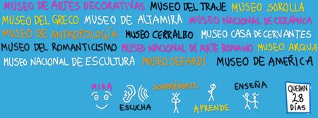 Apúntate a #Museorimaconfebrero y visita gratis 15 museos en toda España