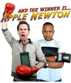 Apple Newton contra un Windows UMPC