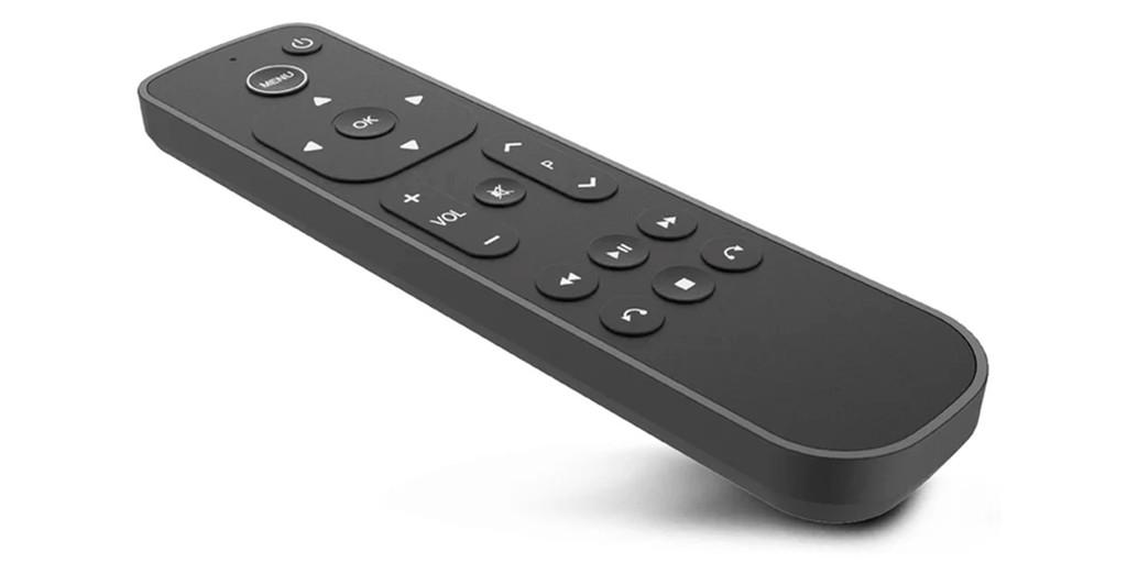 Un teleoperador suizo lanza un mando a distancia para <strong>Apple℗</strong> TV más cómodo que el Siri Remote»>     </p> <p>El <strong>Apple℗</strong> TV 4K es <strong>uno de los mejores centros multimedia</strong> que logramos comprar para vuestro salón, dormitorio o estancia en la que dispongamos de un televisor. El <em>set-top box</em> de los de Cupertino es semenjante con la gran mayoría de servicios de vídeo en streaming, dispone de una interfaz sencilla y agradable, y cuenta con una buena cualidad de imagen, además de soporte para Dolby Vision y sonido Dolby Atmos.</p> <p> <!-- BREAK 1 --> <span id=