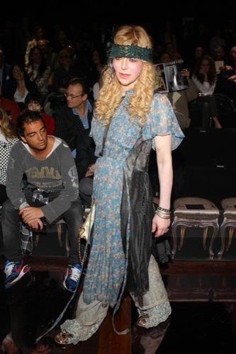 Celebrities en la Semana de la Moda de Milán, Courtney Love I