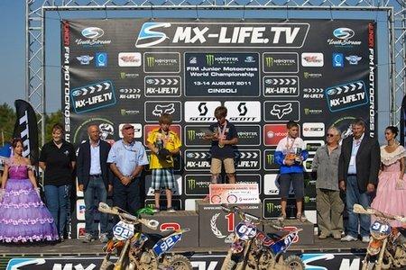 Jorge Prado, 10 añitos y campeón mundial de motocross