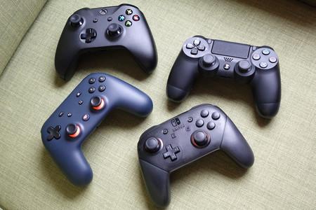 El mando de Stadia comparado con el de PS4, Xbox y Nintendo Switch