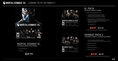 Mortal Kombat Xl Precio