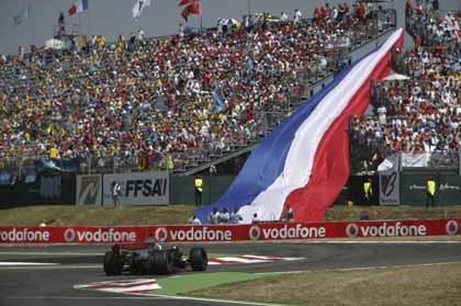 El GP de Francia se cae del calendario de 2008