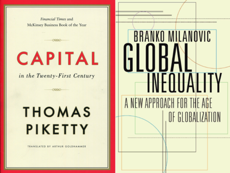 Capital in the XXIst Century, de Thomas Piketty y Global Inequality, de Branko Milanovic