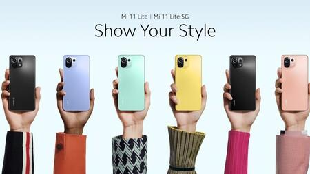 Xiaomi Mi 11 Lite 5g Oficial Diseno Colores