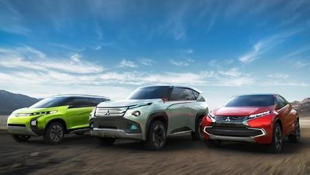 Mitsubishi presentará tres prototipos híbridos en Tokio