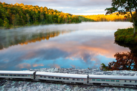 Canadian Train Quebec