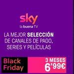 Black Friday de Sky España: películas y series en streaming durante 3 meses por 6,99 euros y, si no tienes Smart TV, una TV Box gratis