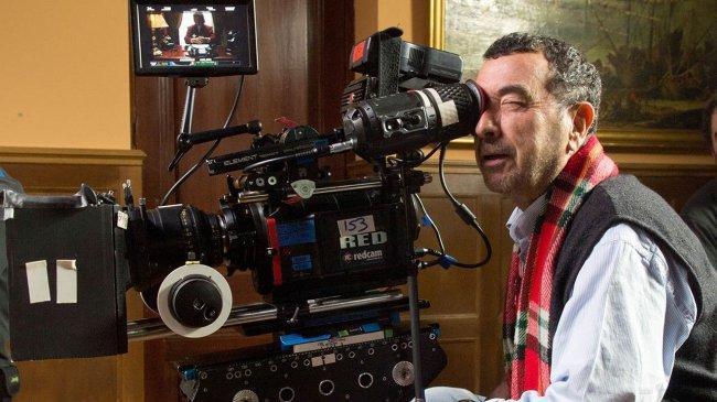 Imagen de José Luis Garci en el rodaje de 'Holmes & Watson: Madrid Days'