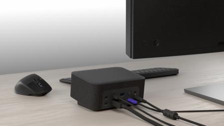 High Resolution Png Logi Dock Desktop Enviro Graphite Back