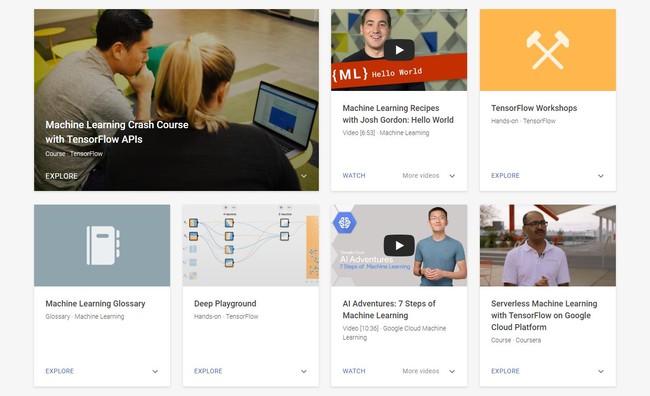 Google ha creado un curso online gratuito para aprender sobre inteligencia artificial y aprendizaje automático