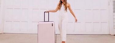 Nueve maletas de viaje súper prácticas, cómodas y muy bonitas, que fichamos para nuestras vacaciones de verano