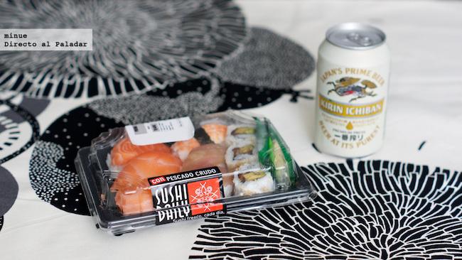 Prueba de sushi carrefour - aspecto
